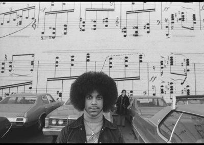 Prince at Music Mural