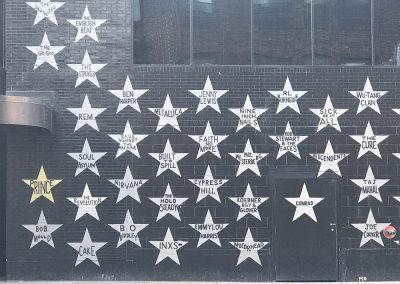 Find your favorite rocker_s star on First Avenue