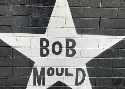 Minnesota music legend Bob Mould_s star at First Ave