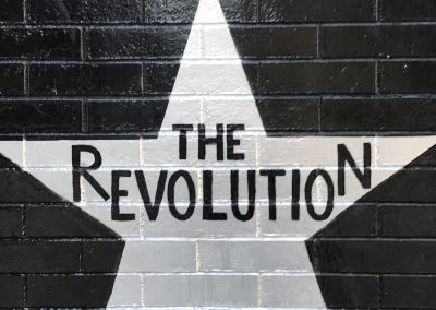 The Revolution_s star on the First Avenue wall