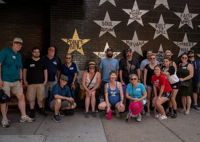 Tour group at First Avenue